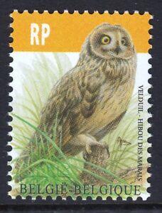 Belgium 2012 Short Eared Owl Mint MNH