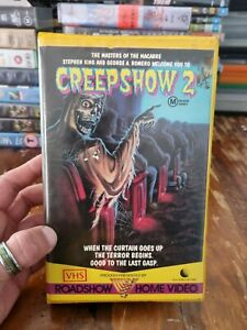 Creepshow 2 VHS ( Mint Condition ) Clam Shell