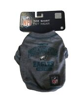 New listing Philadelphia Eagles Pets First Officially Licensed Nfl Dog Pet Tee Shirt, Gray