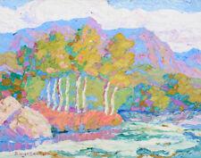 Birger Sandzen In Logan Canyon Logan Utah Canvas Print 16 x 20   #9706