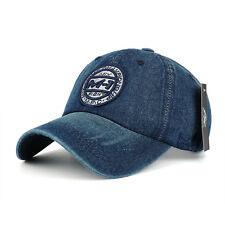 Men Women Blue Gray Red Cotton Baseball Hat Snapback Casquette Gorras Hat Cap