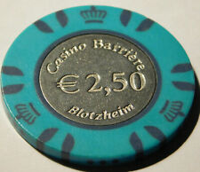 JETON de CASINO CHIP ALSACE chips ELSASS game GAMBLING metal center paulson ?