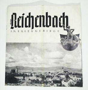 Prospekt Reichenbach im Eulengebirge 1935er (H3