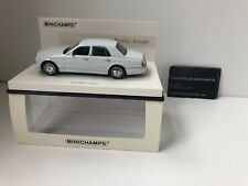 Minichamps 1:43 BENTLEY ARNAGE 2005 LINEA BIANCO LTD TO 2,008 PCS VERY RARE