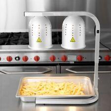 Aluminum Heat Lamp / Food Warmer 2 Bulb Free Standing NIB