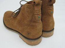 ARIAT Prescott Brown Suede Leather Lace Chukka Boots Men's 11 B