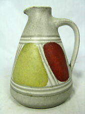 Beautiful 60´s cläre Pliers/K. H. Spoonbill Design KRÖSSELBACH Pottery Vase 31/2