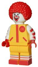 **NEW** Custom Printed - RONALD MCDONALD - Fast Food Restaurant Block Minifigure