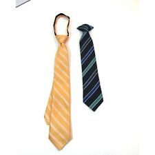 New listing Boy's Youth Clip-on Ties Clip On Adjustable Church Wedding Formal Striped