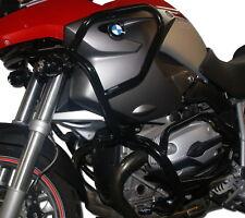 Paramotore Crash Bars HEED BMW R 1200 GS (04-12) - Full Bunker nero + Borse
