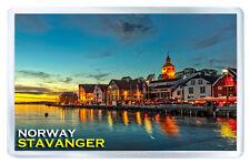 STAVANGER NORWAY FRIDGE MAGNET SOUVENIR IMAN NEVERA