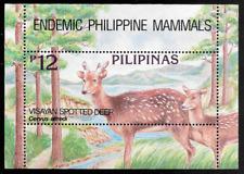 Philippines 1994 Visayan Spotted Deer Souvenir Sheet - MNH