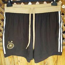 Adidas Germany Football Shorts 2011 Large Black and Gold