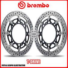 208A98524 COPPIA DISCHI FRENO BREMBO T-DRIVE KTM Superduke R  1290cc 2014> Ø320