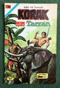 Korak el Hijo de Tarzan Spanish Bronze Age comic jungle action stories vg