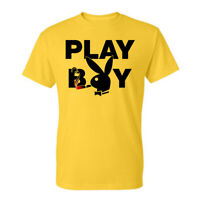 Playboy, Classic Bunny  Mens Tees Graphic Funny Generic Novelty Unisex T-Shirt