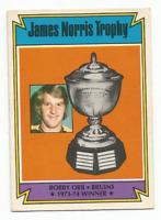 1974-75 O-Pee-Chee #248 Bobby Orr Norris Trophy Boston Bruins ***