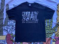 BILLY JOEL In Concert Live Hollywood Bowl 2014 Tour T-SHIRT Mens XL BLACK