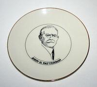 John Henry Patterson, NCR Founder, Commemorative Plate Souvenir Dayton Ohio RARE