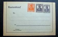GERMANY KARTENBRIEF MINT