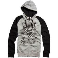 Cotton Blend Hooded Fleece Tops Hoodies & Sweats for Men