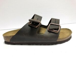 Birkenstock Arizona Habana Leather Sandal Womens Size US9 N EUR40