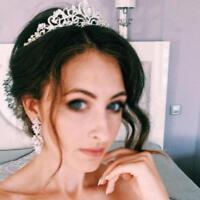Diaman Crown Tiara Headbands Bridal Bridesmaid Weddingm Crystal Rhine Tool Y4T9