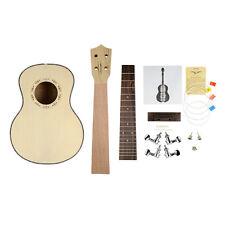 Spalted Mango Ukulele Spruce TOP Tenor Ukulele Hawaii Guitar 4 String Guitar KIT
