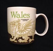 Starbucks Wales Icon Mug Red Dragon Welsh Y Ddraig Goch Cymru UK New US Ship