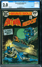 BRAVE AND THE BOLD 110 CGC 2 Batman Wildcat Haney Aparo Cardy 1974