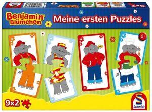 Benjamin Floral - Mine Erstens Puzzles 9x2 Pieces 16,10 X 8,10 CM