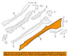 BMW OEM 14-17 i8 Exterior Trim-Outer Rocker Panel Right 51777372040