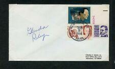 Autographed Envelope Glenda Gates Riley American educator Womens History