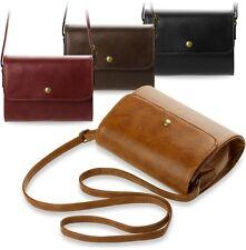 Clutch - Tasche kleine Damentasche Umhängetasche Retro - Style steife Form
