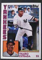 2019 Topps Update Thairo Estrada RC Rookie 1984 Topps 35th Anniversary Yankees