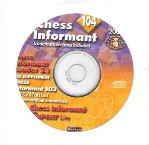 Schach - Informator 104 auf CD - 2009 1 - Neu - Schachinformator Chess Informant