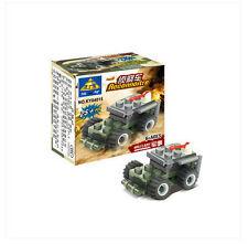 Building blocks toys military 84015 mini reconnaissance vehicle