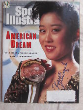 KRISTI YAMAGUICHI SIGNED SPORTS ILLUSTRATED SI W PROOF gold medal olympic skater
