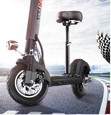 500w Elektro E Scooter Bike Powerboard Kinder Erwachsene 48v Speed 48km/h Range 85km UK