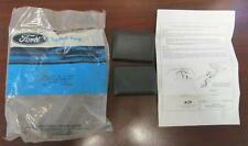 1986-88 NOS Ford Taurus & Mercury Sable Black Seat Belt Tongue Covers