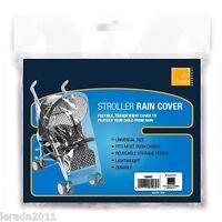 EMERGENCY STROLLER PRAM PUSHCHAIR RAIN COVER UNIVERSAL SIZE LIGHTWEIGHT DURABLE