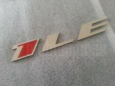 GM LICENSED, 2010-15 CAMARO 1LE Emblem Stainless Steel + Color, (1) Small Size