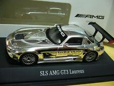 MERCEDES BENZ SLS AMG Gt3 Laureus Spark HIGHENDDETAIL  MB Ind. 1:43