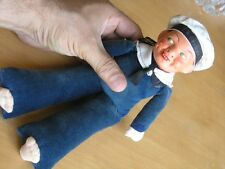 Nora Wellings Victoria Toy Works Composition Hd T S Bremen Sailor Jolly Boy Doll