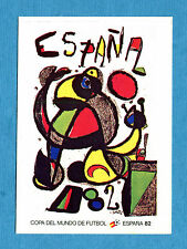 MEXICO 86 - Panini -Figurina-Sticker n. 15 - ESPANA 1982 - POSTER -Rec