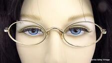 Eyeglasses Echizen 2160 22K GP Gold Plated Made Japan Rare VTG Japanese Frames