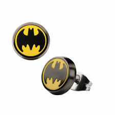 DC Comics Batman Bat Logo Stud Earrings