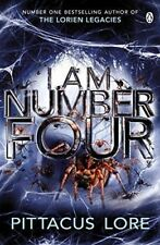 I am Number Four by Pittacus Lore (Paperback) NEW Book