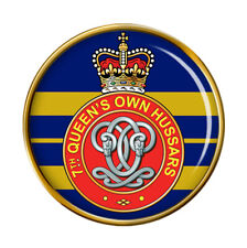 7th Queen's Own Hussars, British Army Pin Badge