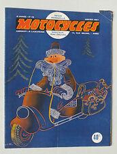 ANCIENNE REVUE MOTOCYCLES N° 46 - JANVIER 1951 *